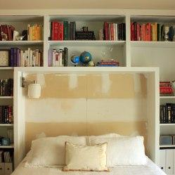 Guest Room During Shelf Change