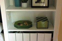 Guest Room Shelf Detail