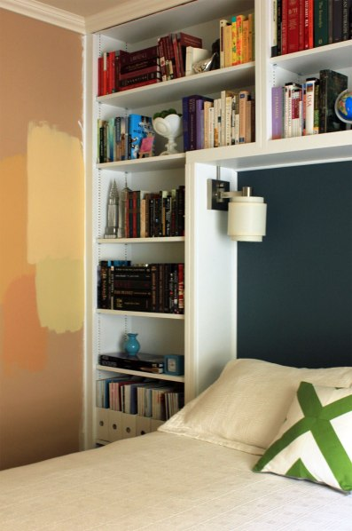 Guest-Bedroom-Safari-Yellow-by-Bookshelves