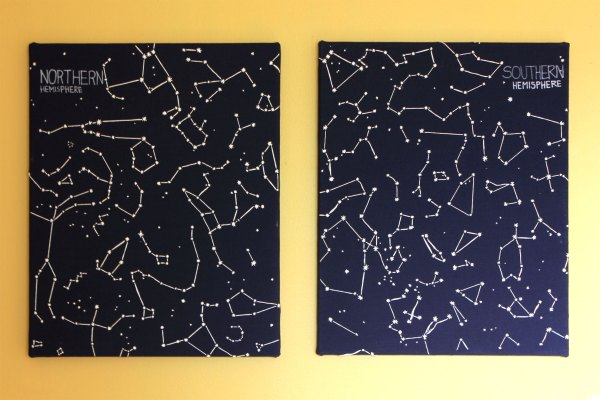 Embroidered-Constellation-Art