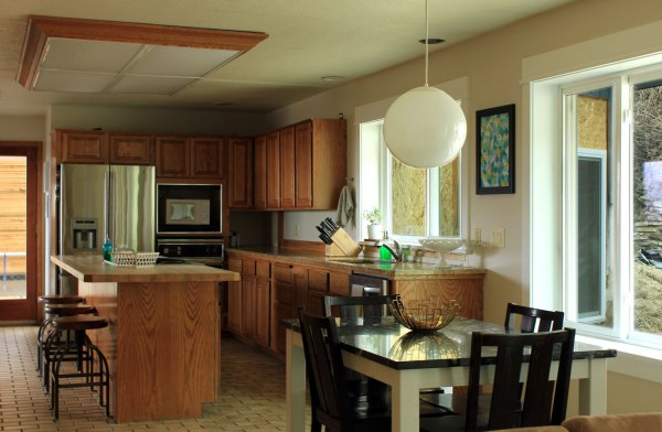 Painted-Kitchen-from-Living-Room