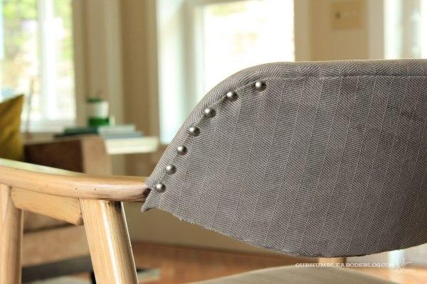 MCM Chairs Nail Head Detail