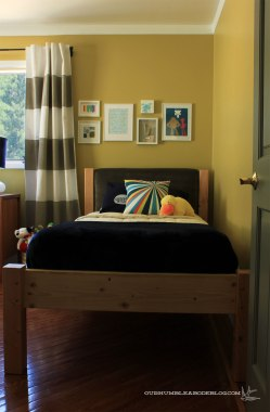 Boys Room After Bed Detail