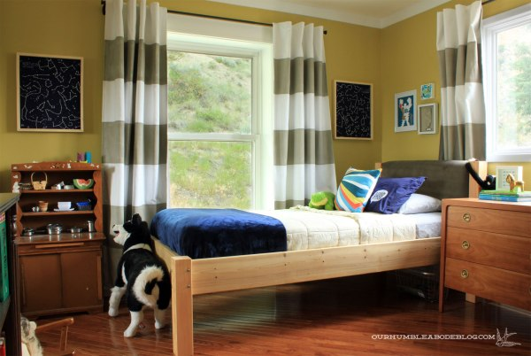 Constellation-Art-by-Window-in-Boys-Room