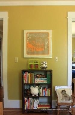 Boys Room After Bookshelf