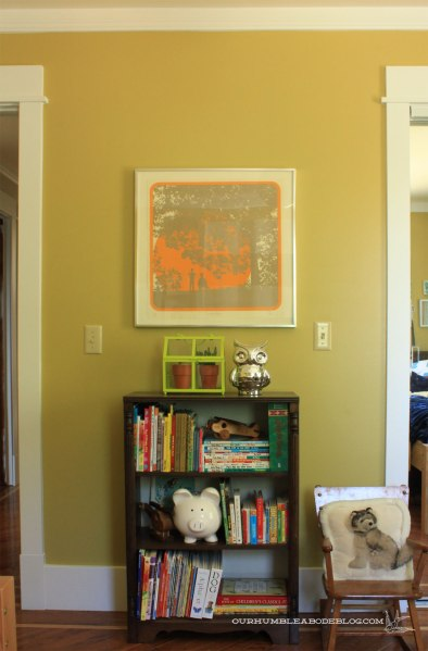 Goodwill-Screen-Print-Art-in-Boys-Room