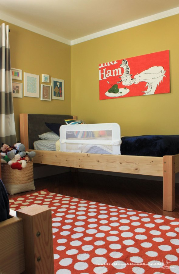 Boys Rooms Ikea Ikea-dot-rug-in-boys-room