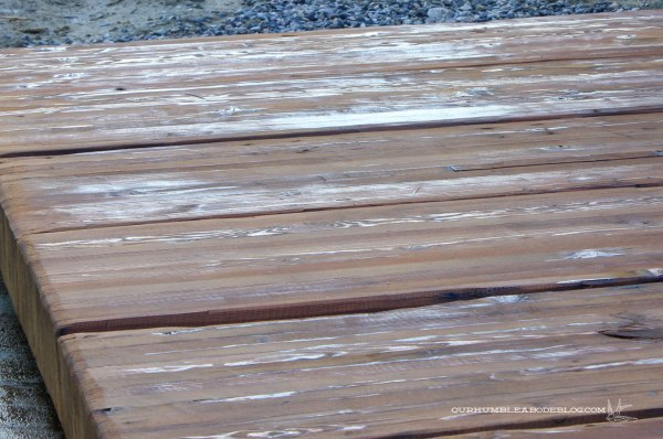 Stained-Back-Deck-Wet-Spots