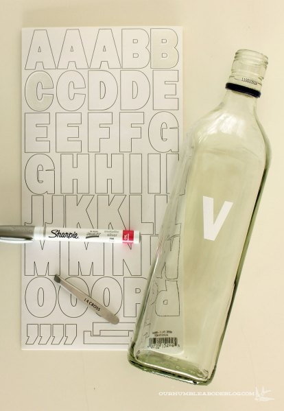 Bar-Bottles-with-Inital-Labels-Supplies