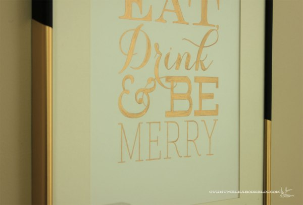 Gold-Eat-Drink-Be-Merry-Print
