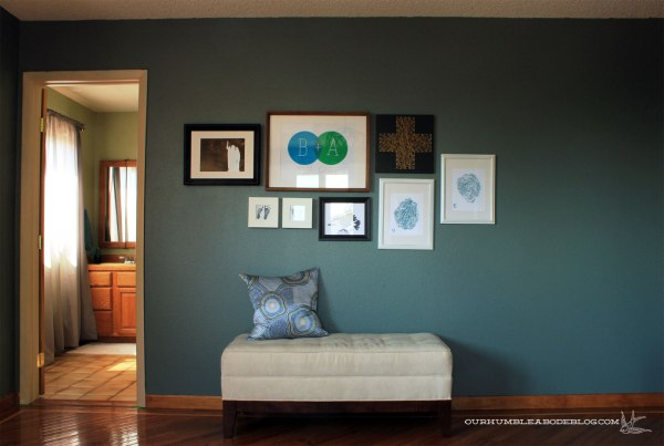Master-Bedroom-Painted-Blue-Sage-Gallery-Wall