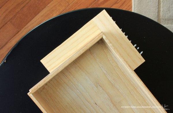 Gold-and-Herringbone-Side-Table-Step-1