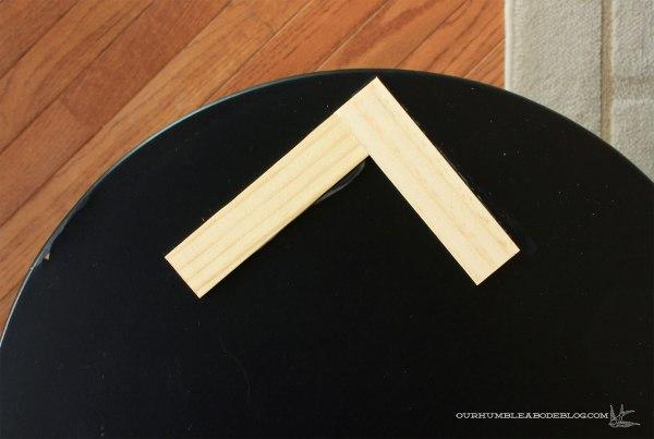 Gold-and-Herringbone-Side-Table-Step-2