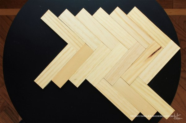 Gold-and-Herringbone-Side-Table-Step-3
