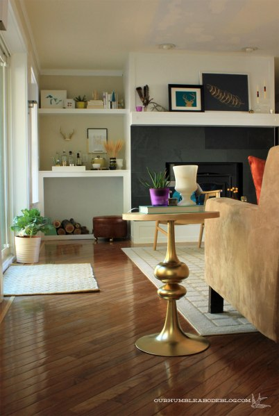 Gold-and-Herringbone-Side-Table-to-Fireplace