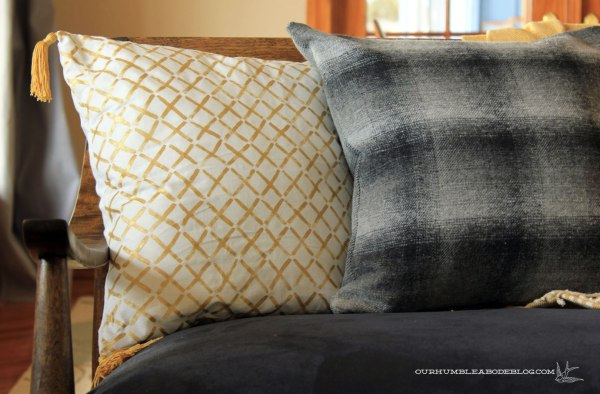 Painted-X-and-Plaid-Pillow-Fronts