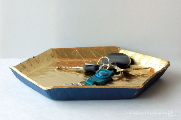 Paper-Mache-Key-Tray-Side