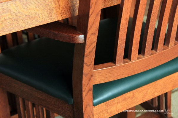 Dining-Table-Leather-Chair-Detail