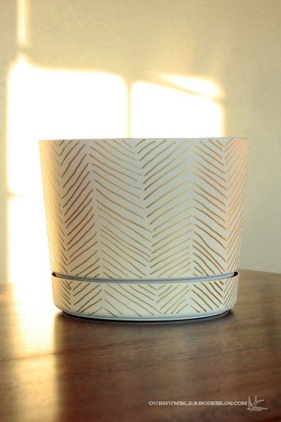 Herringbone-Plant-Pot
