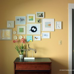 Guest Room After Gallery Wall