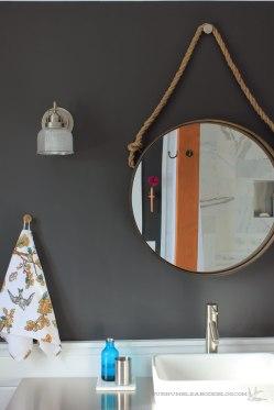 Master Bathroom Mirror Detail