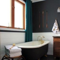 Master Bathroom with Clawfoot Tub