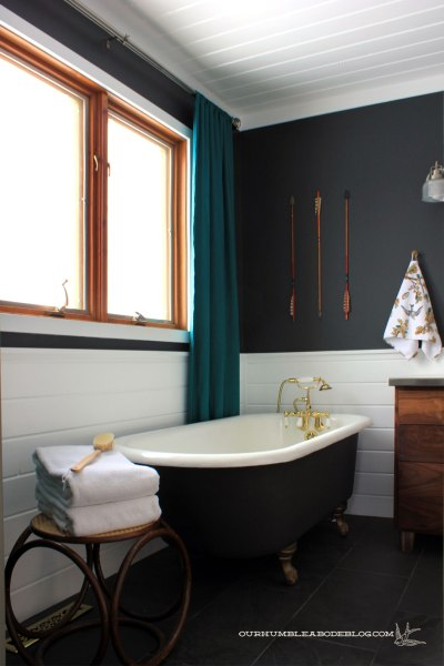 Master Bathroom with Clawfoot Tub