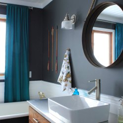 Master Bathroom Vanity and Sink