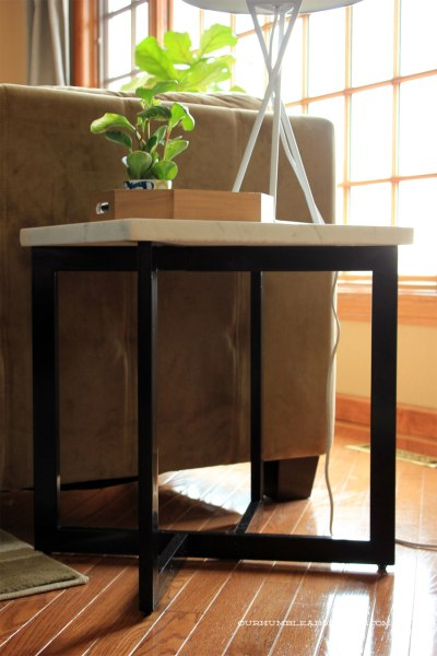Honed-Marble-End-Table-Top-from-Side