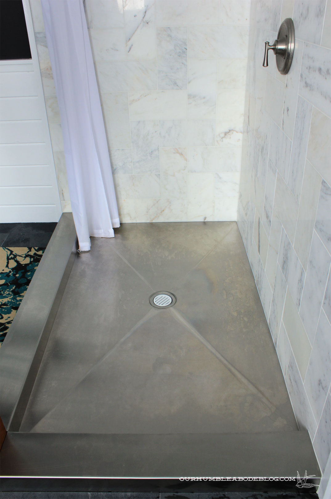 Diy Shower Base