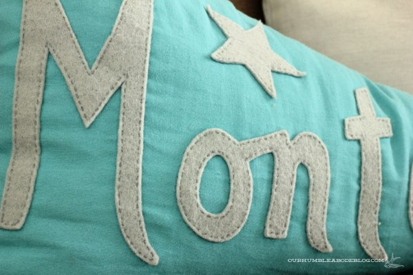 Montana-Pennant-Pillow-Stitched-Lettering-Detail