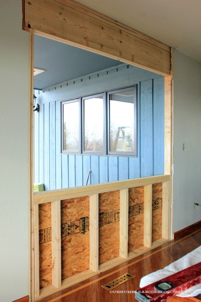 New-Window-in-Dining-Room-Framing