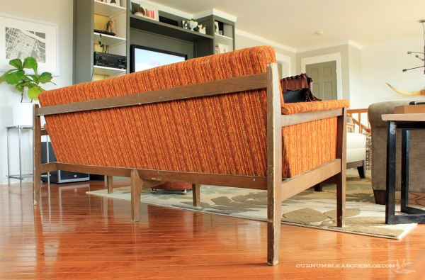 Thrifted-Vintage-Orange-Sofa-Back