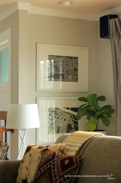 Map-Art-by-Window-in-Living-Room-Detail