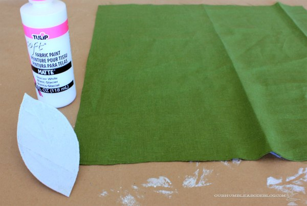 Stamping-Supplies-Green-Leaf-Pillows