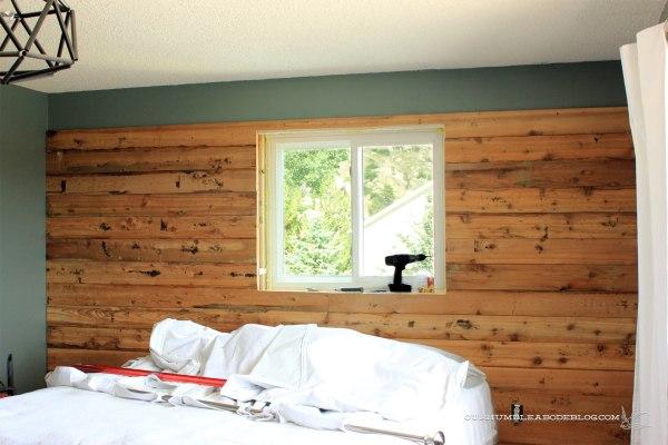Cedar-Planked-Wall-in-Progress