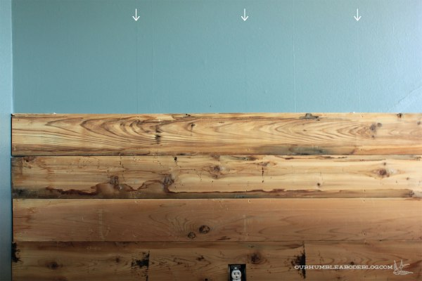 Cedar-Planked-Wall-Studs-Marked