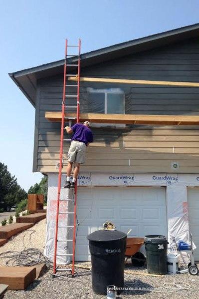 Painting-Siding-Process-Garage-End