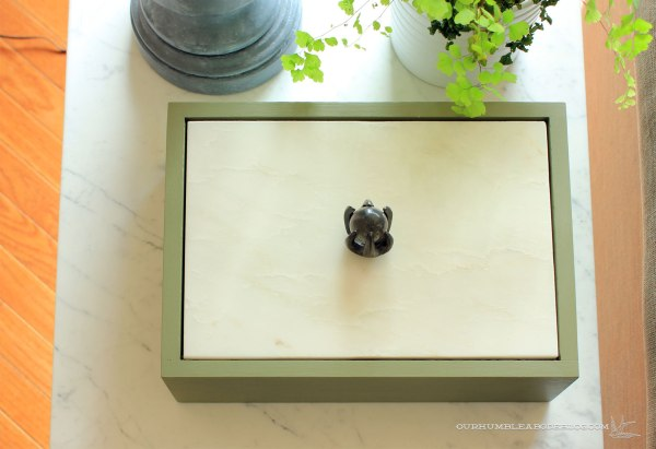 Marble-Topped-Remote-Box-Above