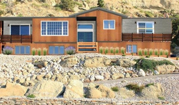 Photoshop-House-Plans-Rust-Trim-Door-Plants
