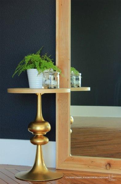 Framed-Wall-Mirror-in-Master-Bedroom-Detail