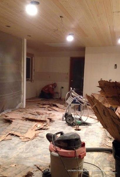 Kitchen-Sub-Floor-Removal