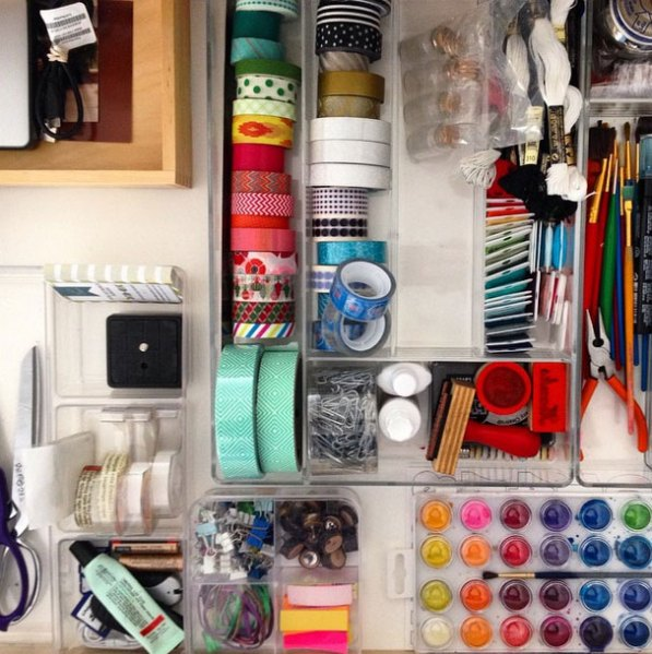 Organizing-Office-Drawers
