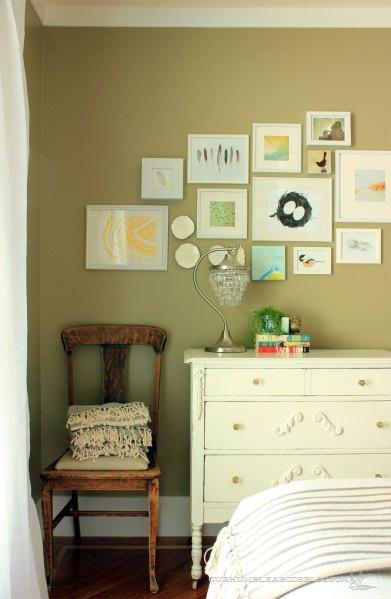 Green-Guest-Room-Dresser-Chair-and-Art