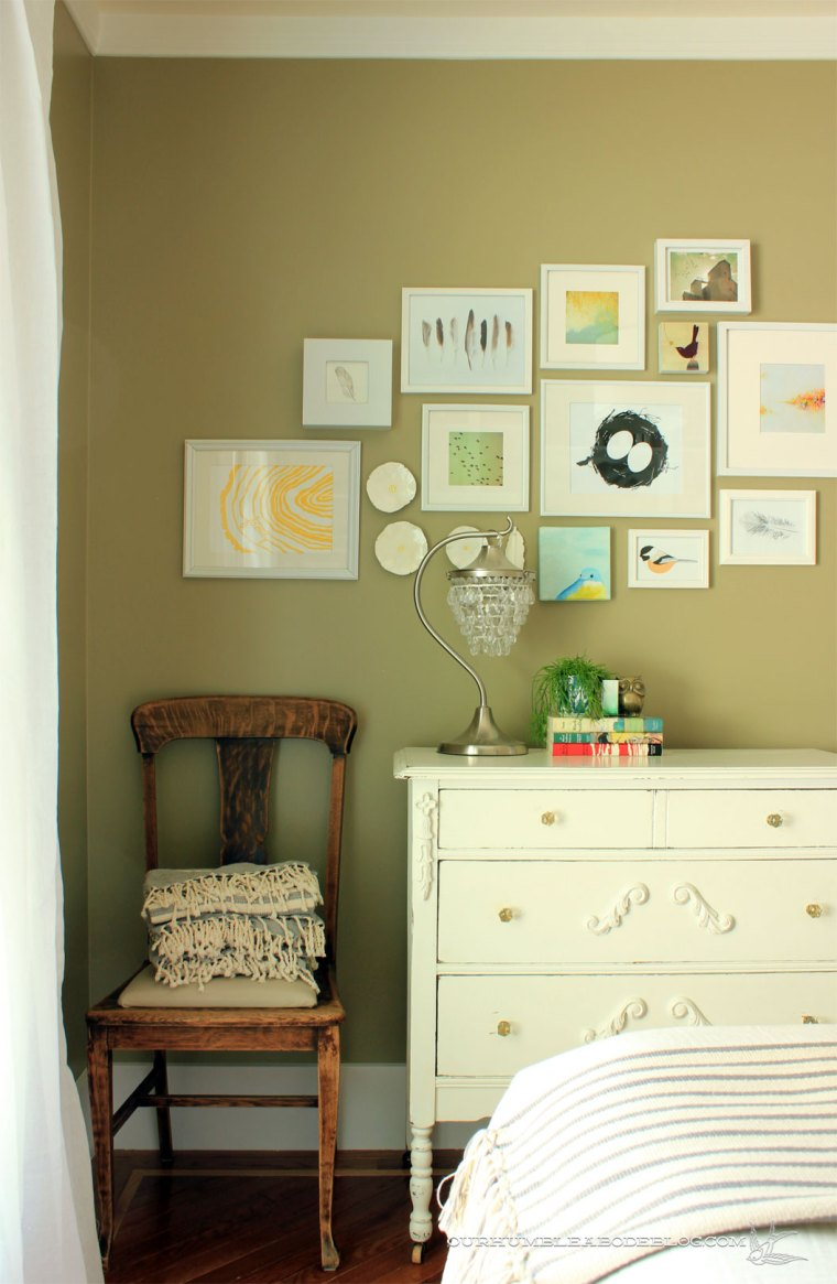 Green-Guest-Room-Dresser-Chair-and-Art