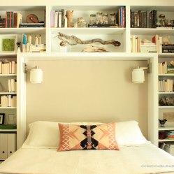 Streamline your bookshelf: https://ourhumbleabodeblog.com/2015/05/26/shelfie/