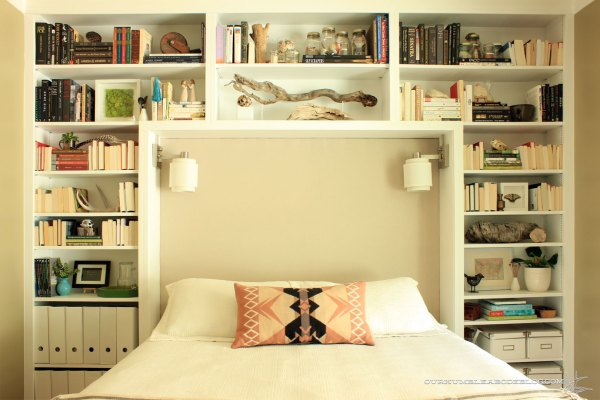Guest-Room-Upholstered-Headboard-and-Bookshelves
