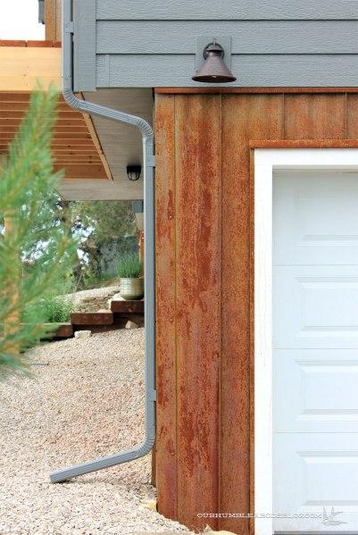 Rusted-Steel-Siding-Left-Garage-Side-Detail
