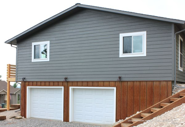 Rusted-Steel-Siding-on-Garage-End