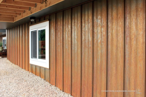 Rusted-Steel-Siding-Under-Bedroom